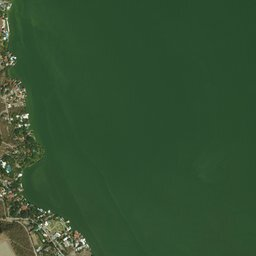 Mapa de Laguna Tequesquitengo , Morelos, carreteras y vista