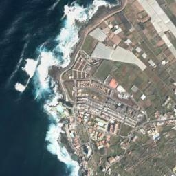Punta Hidalgo Tenerife Mapa.Mapa Satelite De Punta Del Hidalgo Como Llegar Y Plano